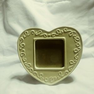- Porcelain picture frame by Carr